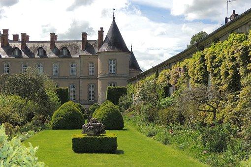 Castle, Haroué, Beauvau-craon, 18 ° Century, Boffrand