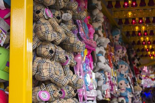 Toys, Funfair, Colors, Prices, Animals, Footman