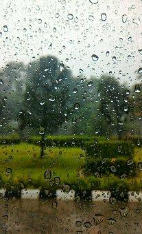 Rain, Glass, Window, Drop, Water, Wet, Weather