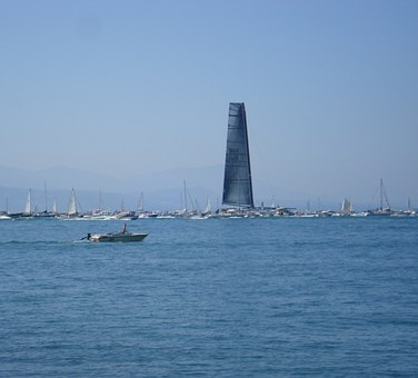 Boats, Sailing, Alinghi, Lake Geneva, Lausanne
