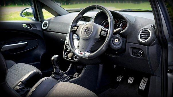Car, Interior, Vehicle, Auto, Automobile, Leather