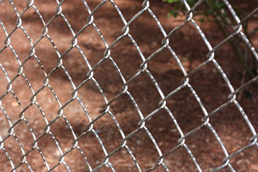 Fence, Chain, Fencing, Encaged, Security, Link