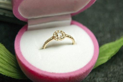 Ring, Diamonds, Gift, March 8