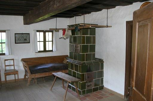Oven, Tiled Stove, Farmhouse, Old Farmhouse, Museum