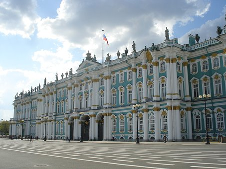 St Petersburg, Hermitage, Russia