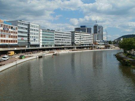 Promenade, Riverside, Saarbrucken, Saar