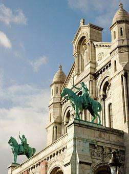 Basilica, Sacred Heart, Paris, Montmartre, France