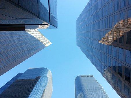 Los Angeles, City, Buildings, Los, Angeles, Skyline