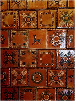 Tile, Ceramics, The Museum, Decorative Tiles, Stove