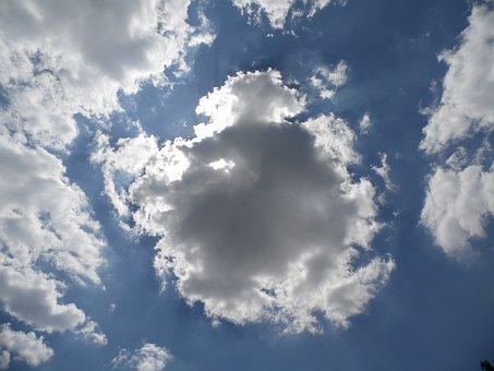 Dark Clouds, God, Sky, Clouds, Thunderstorm