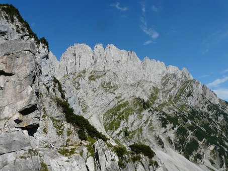 Mountains, Alpine, Wilderkaiser, Törl Tips