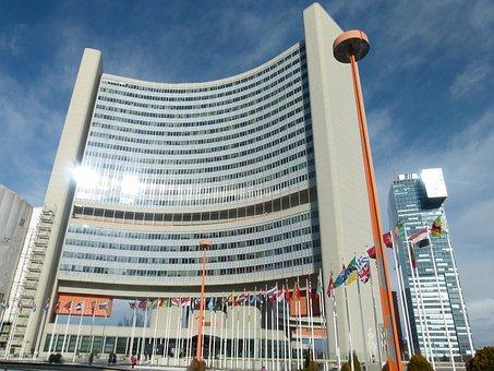Vienna, Austria, International Center, Building