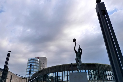 Sculpture, Basketball, Street, Sport, Ball, Competition