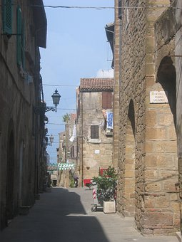 Alley, Building, Stone, Maremma, Italy, Eng, Homes