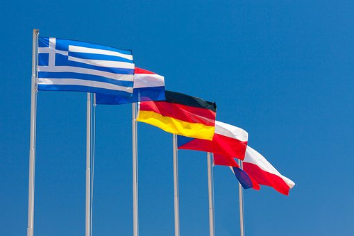 Blue, Country, Culture, Europe, European, Fabric, Flag