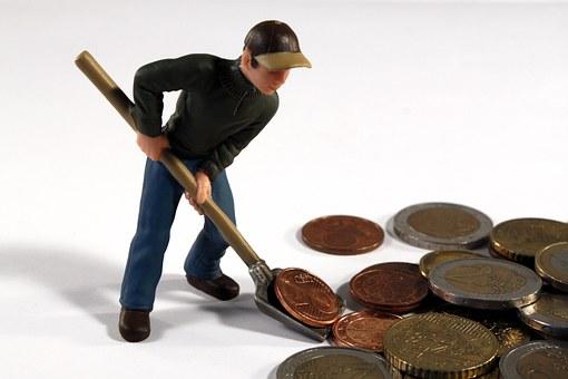 Man, Figure, Toys, Pokes Fun At, Blade, Money, Euro