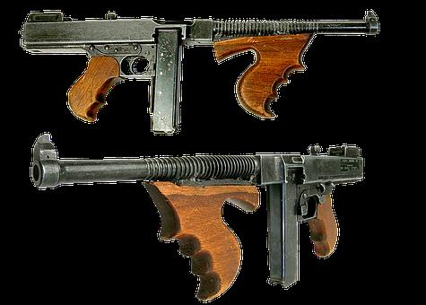 Gun, Automatic, Machine Gun, Firearms