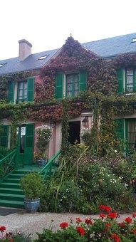 Monet, Monet's House, Giverny, France, Europe, House