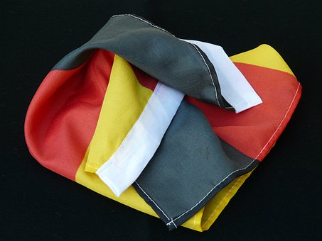 Flag, Germany, Black, Red, Gold, Black Red Gold, Fabric