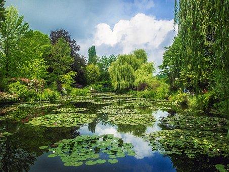 Gardens Monet, Giverny, Gardens