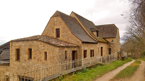 Bastide Of Domme, France, The Dordogne Valley, House