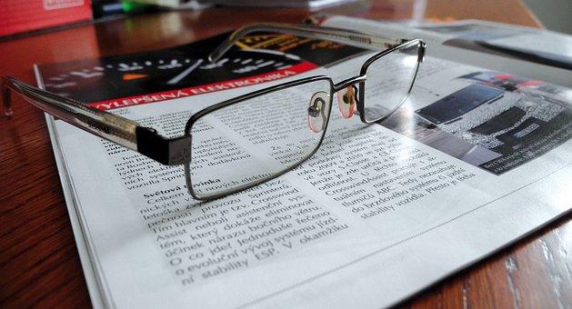 Glasses, Lenses, Frames, Glass, Diopter, Reading