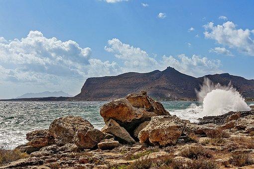 Favignana, Island, Sea, Sicily