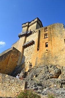 Castle, Medieval Castle, Stone Wall