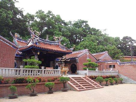 Changhua, Tiger Rock, Temple, Building