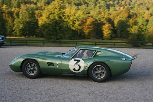 Race Car, Ac Cobra, Le Mans, Racing, 3