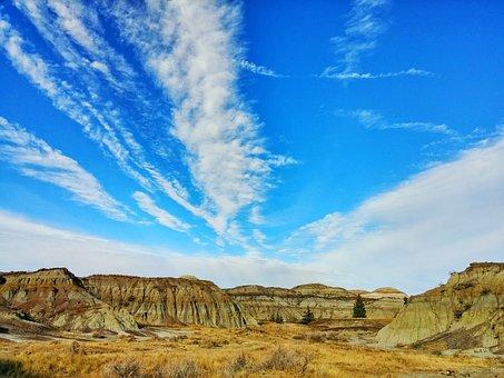 Badlands, Drumheller, Hiking, Landscape, Alberta