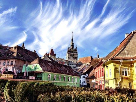 Sighisoara, Romania, Dracula's Birthplace, Halloween