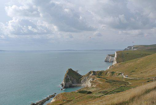 Dorset, Sea, Coast, England, English, Landscape