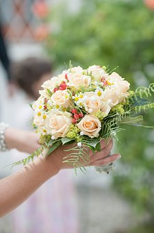 Wedding, Celebration, Festival, Flowers, Marry, Bouquet