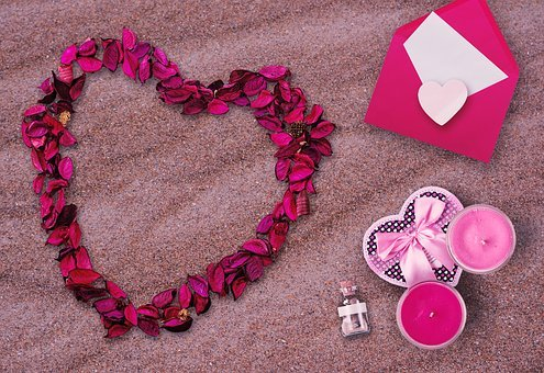 Marriage Proposal, Marry, Beach, Romantic, Heart
