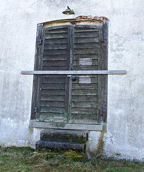 Input, Door, House Entrance, Hinged Door, Double Door