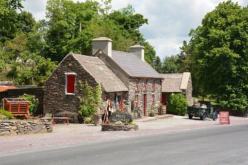 Cottage, Historically, Country House, Ireland, Irish