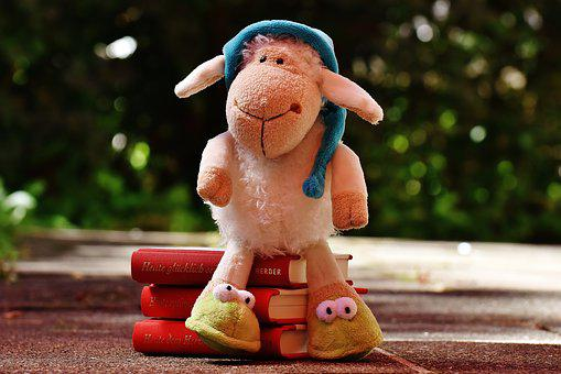 Sheep, Sleepyhead, Plush, Books, Good Night Story, Read