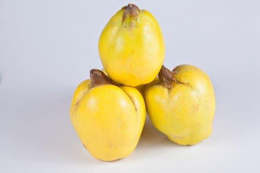 Quince, Yellow, Fruits, Pome Fruit, Fruit, Quince Fruit