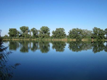 Silz, Quarry Pound, Lake, Water, Reflection, Tranquil