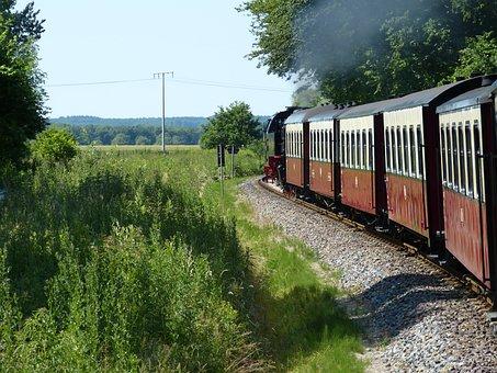 Railway, Train, Transport, Traffic, Loco