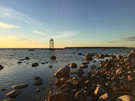 After Sunset, Estonia, Tallinn, Baltic, Sea, Beautiful