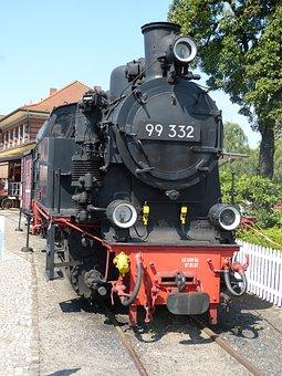 Loco, Steam Locomotive, Rail Traffic, Railway
