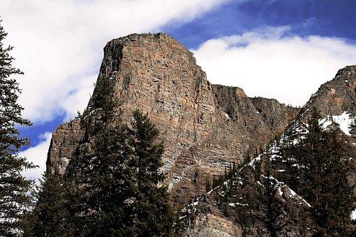 Mountain, Trees, Canada, Landscape, Nature, Scenic