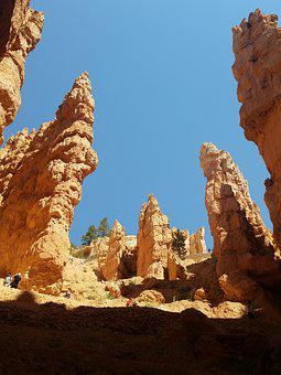 Hoodoos, Bryce Canyon, Utah, Rock, Erosion, National