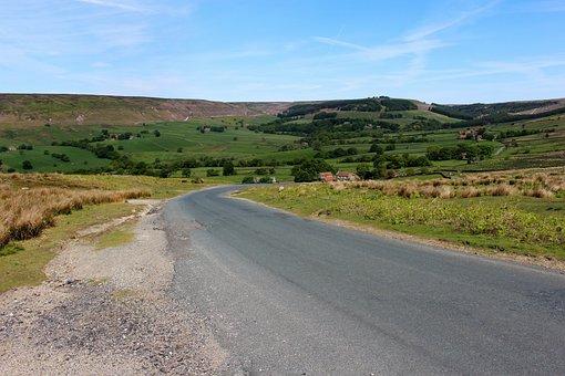 Yorkshire Moors, England, Yorkshire, Uk, Landscape