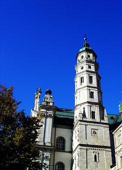 Neresheim, Monastery, Abbey, Church