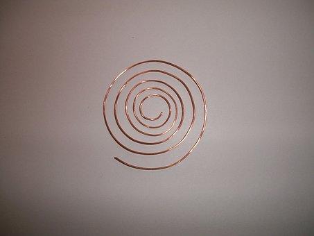 Spiral, Copper, Wire, Metallic, Coil