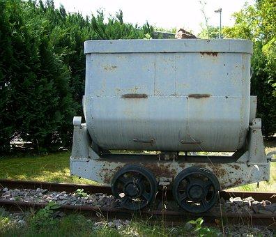 Dare, Means Of Transport, Mine, Hunt, Grubenbahn