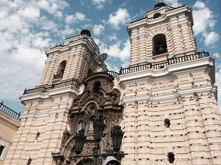 Peru, Lime, Heritage, Church, History, Catacombs